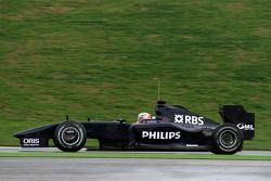 Nico Hulkenberg, pilote d'essai WilliamsF1 Team, FW31