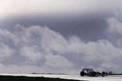 Kamui Kobayashi, pilote d'essai Toyota F1 Team, dans la nouvelle TF109