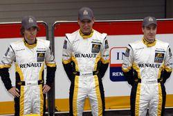 Charles Pic, Marco Sorensen and Davide Valsecchi