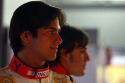 Nelson A. Piquet y Fernando Alonso