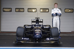Nico Hulkenberg, piloto de pruebas WilliamsF1 Team con el Williams FW31