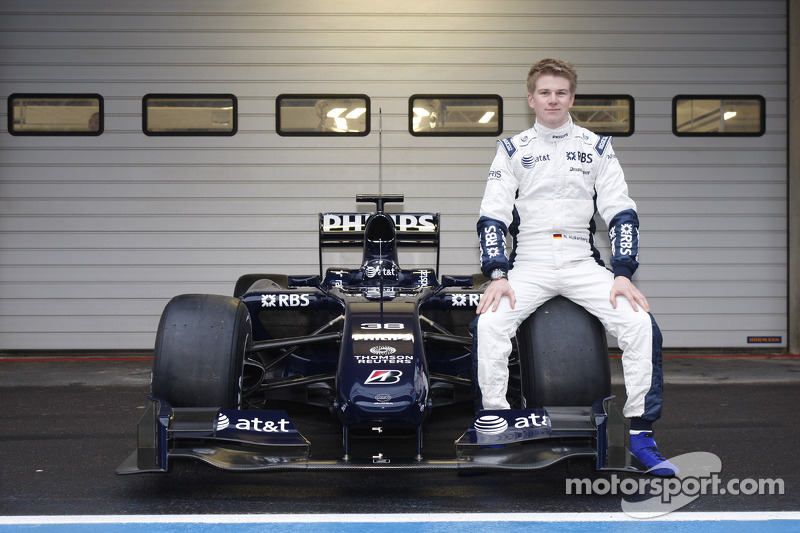 Nico Hulkenberg, Test Pilotu, ve yeni Williams FW31