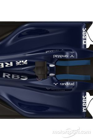 Détails de la nouvelle Williams FW 31