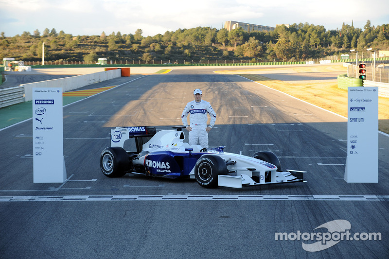 Robert Kubica ve yeni BMW Sauber F3.09