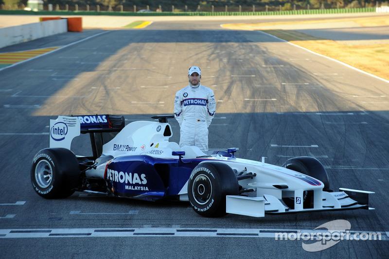 Nick Heidfeld ve yeni BMW Sauber F3.09