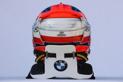 Helm von Robert Kubica, BMW Sauber F1 Team