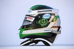 Helmet of Nick Heidfeld