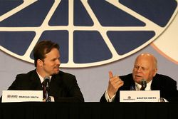 Speedway Motorsports Inc. CEO and Chairman of the Board Bruton Smith and General Manager of Lowe's M