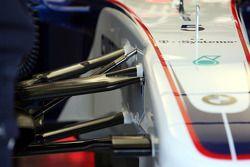 Technical detay, front suspension, Robert Kubica, BMW Sauber F1 Team