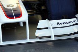 Technical detay, ön kanat, Robert Kubica, BMW Sauber F1 Team