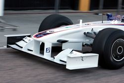 Technical detail, front wing, nose, Robert Kubica, BMW Sauber F1 Team