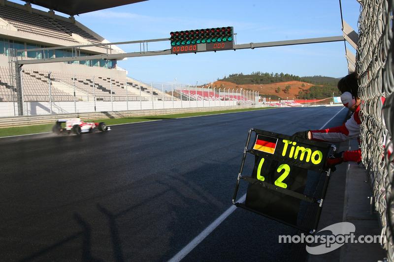 Timo Glock, Toyota F1 Team, yeni TF109