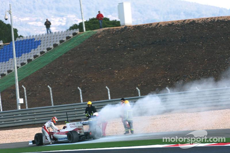 Timo Glock, Toyota F1 Team stop, track ve yeni TF109