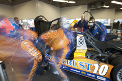 Drivers change practice for Max Angelelli and Wayne Taylor