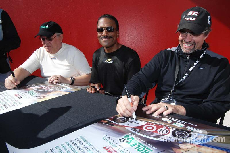 Leo Hindery Jr., Bill Lester et Kyle Petty