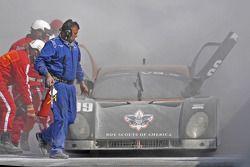 #09 Spirit of Daytona Racing Porsche Coyote: Guy Cosmo, Jason Pridmore, Scott Russell, Jeff Ward pre