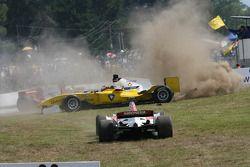 Trouble for Fairuz Fauzy, driver of A1 Team Malaysia