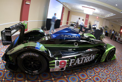 #9 Patron Highcroft Racing Acura ARX 02a Acura on display