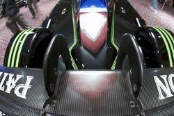 Aileron arrière de la #9 Patron Highcroft Racing Acura ARX 02a Acura