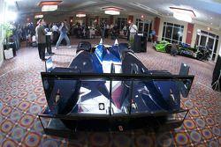 #66 de Ferran Motorsports Acura ARX 02a Acura en présentation