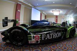 #9 Patron Highcroft Racing Acura ARX 02a Acura en présentation
