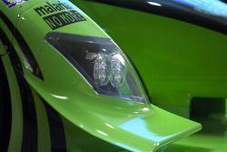 L'avant de la #9 Patron Highcroft Racing Acura ARX 02a