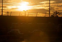 #10 SunTrust Racing Ford Dallara: Max Angelelli, Brian Frisselle, Pedro Lamy, Wayne Taylor, #21 Battery Tender MCM Racing Pontiac GTO.R: Jason Daskalos, Jim Stout