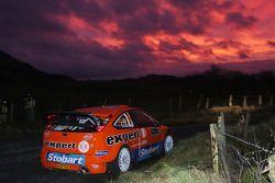 Henning Solberg et Cato Menkerud, Ford Focus RS WRC 08, Stobart VK M-Sport Ford Rally Team