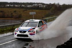 Aaron MacHale et Killian Duffy, Ford Focus WRC