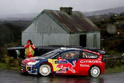 Sébastien Loeb et Daniel Elena, Citroen C4, Citroen Total World Rally Team