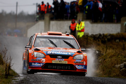 Henning Solberg and Cato Menkerud, Ford Focus RS WRC 08, Stobart VK M-Sport Ford Rally Team