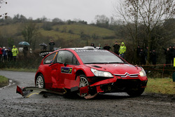 Chris Atkinson et Stéphane Prevot, Citroen C4 WRC, Citroen Junior Team