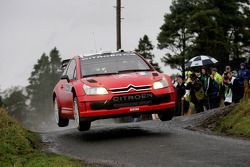 Chris Atkinson et Stéphane Prevot, Citroen C4 WRC, Citroen Junior Team