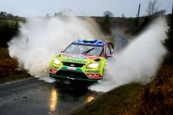 Khalid Al Qassimi et Michael Orr, Ford Focus RS WRC 07, BP Ford Abu Dhabi World Rally Team