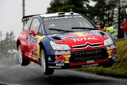 Daniel Sordo et Marc Marti, Citroen C4 Citroen Total World Rally Team