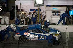 Arrêt aux stands pour #32 PR1 Motorsports Pontiac GXP.R: Patrick Barrett, Mike Forest, Thomas Merrill, Al Salvo, Jeff Westphal