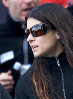 Drivers meeting: Danica Patrick