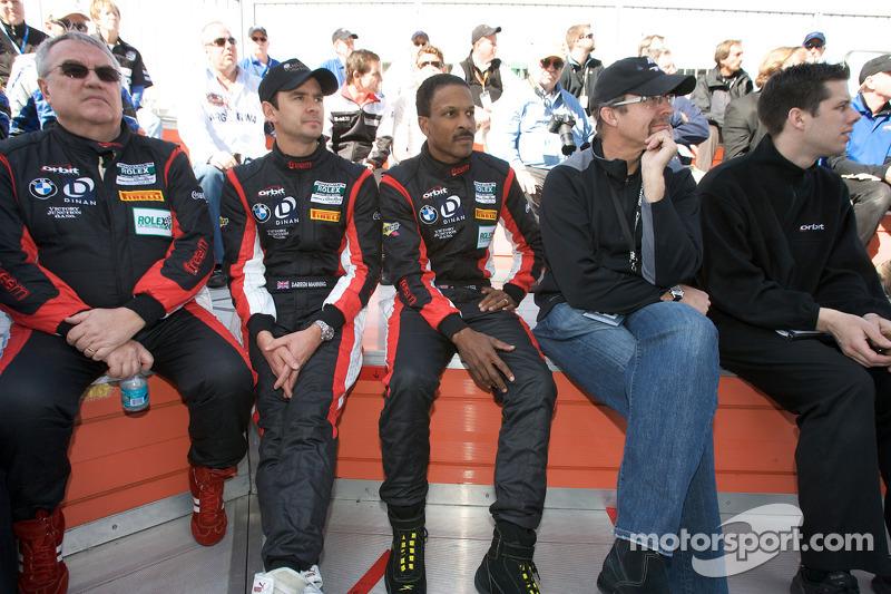 Rencontre des pilotes: Leo Hindery Jr., Darren Manning, Bill Lester et Kyle Petty