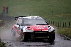 Sébastien Ogier et Julien Ingrassia, Citroen C4 WRC, Equipe de France FFSA