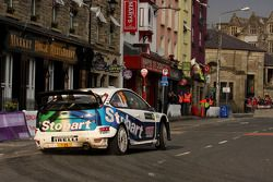 Matthew Wilson et Scott Martin, Ford Focus RS WRC 08, Stobart VK M-Sport Ford Rally Team