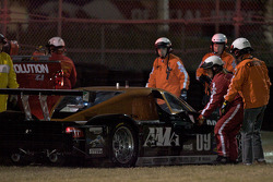 #09 Spirit of Daytona Racing Porsche Coyote: Guy Cosmo, Jason Pridmore, Scott Russell, Jeff Ward retourne sur la piste
