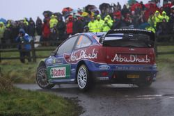 Khalid Al Qassimi et Michael Orr, Ford Focus RS WRC 08, BP Ford Abu Dhabi World Rally Team