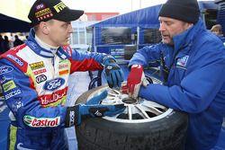 Mikko Hirvonen et George Black parlent des pneus