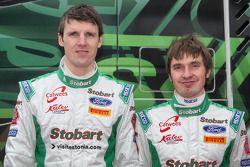 Stobart Motorsport team presentation: Urmo Aava and Kuldar Sikk