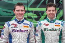Présentation de l'équipe Stobart Motorsport: Matthew Wilson et Scott Martin