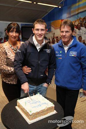 Matthew Wilson celebrates his birthday