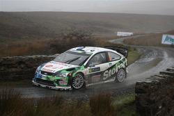 Urmo Aava et Kuldar Sikk, Ford Focus RS WRC 08, Stobart VK M-Sport Ford Rally Team
