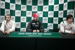 Nico Hulkenberg, Jerome D'Ambrosio and Kamui Kobayashi