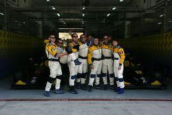 Javier Villa et sa Super Nova Racing team