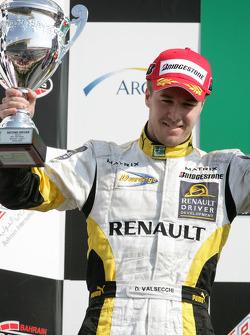 Davide Valsecchi 2nd on the podium